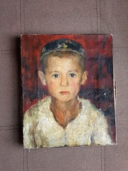 Чингиз Ахмаров картина Мальчик 1938 год