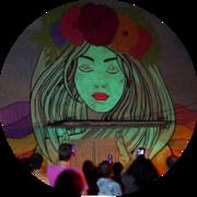 Светящаяся краска для фасадных работ Acmelight Facade